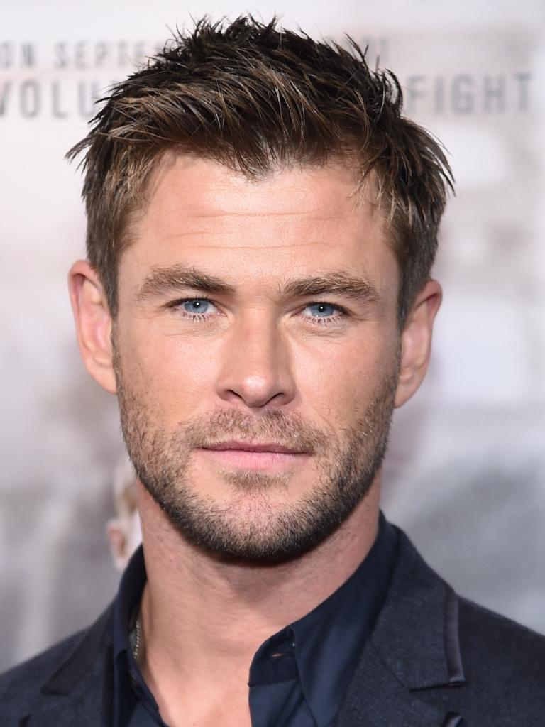 As could fellow Hollywood star Chis Hemsworth. Pictures: Getty