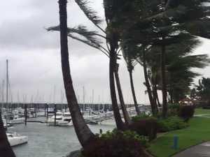 Cyclone Iris hits Mackay Harbour