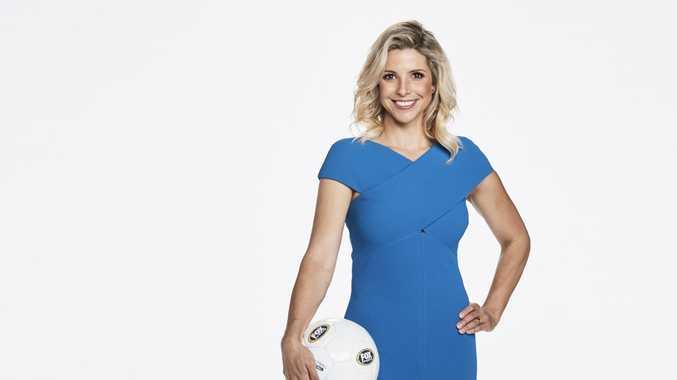 Former Matilda Amy Duggan is a commentator for Fox Sports.