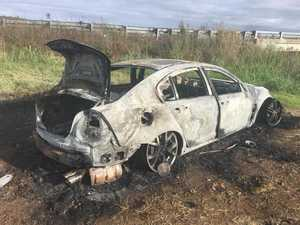 Police investigating after car found on fire
