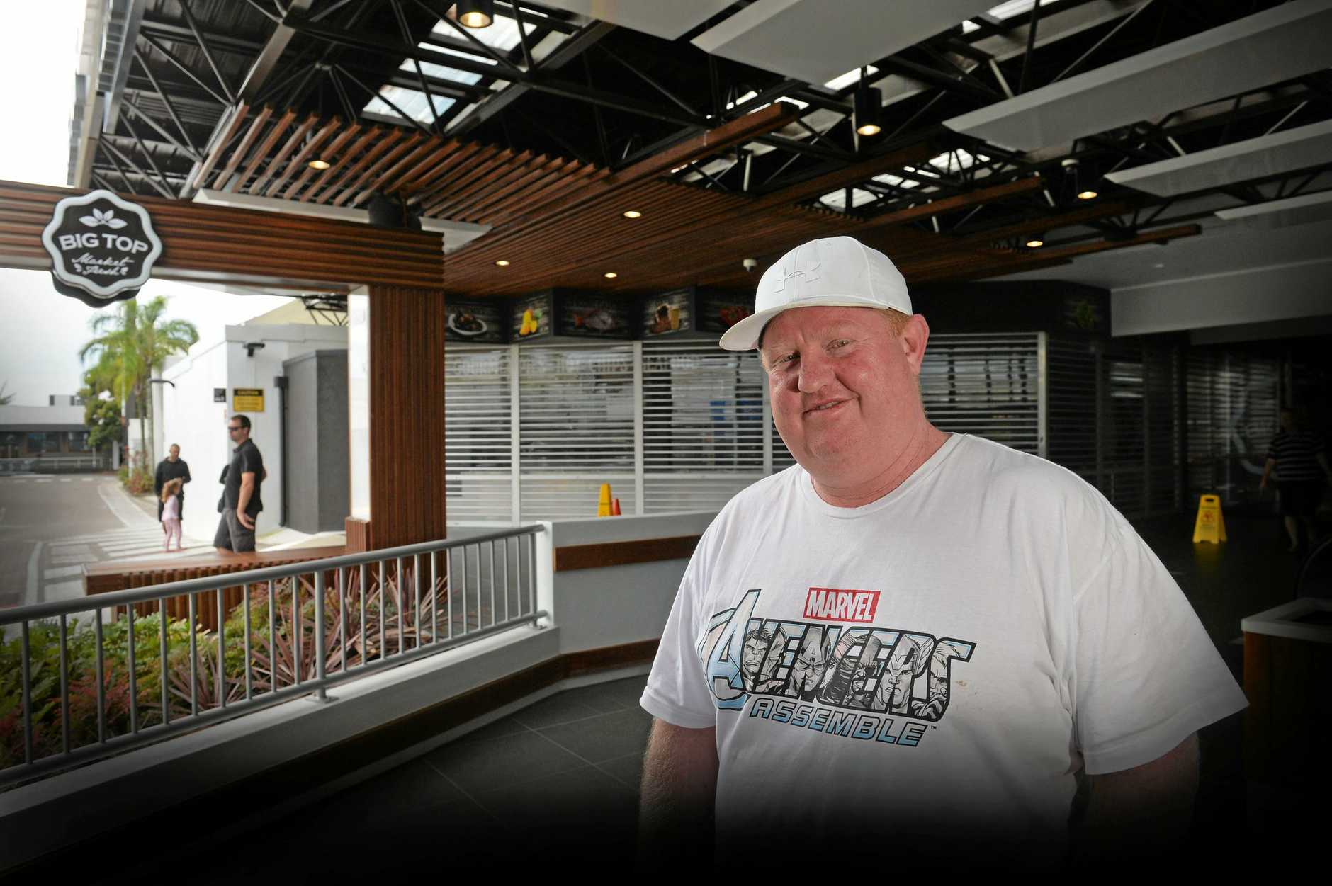 CHARGING AHEAD: Junk Maroochydore owner Scott Hoskins says his restaurant is going gangbusters and was saddened to hear of other franchises closing.