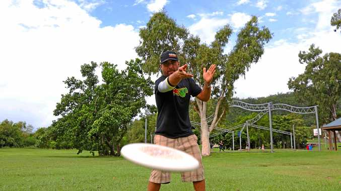 Disc golf player Paul Russel is drumming up support for a course in Cannonvale.