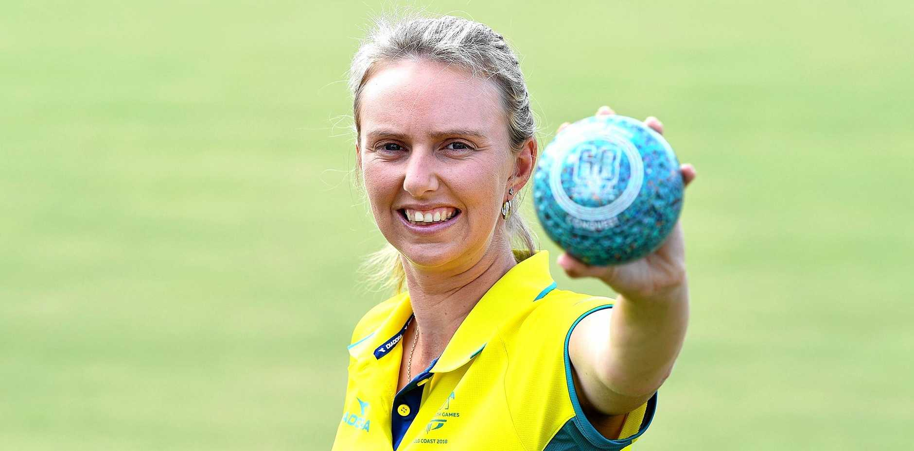 IN CONTENTION: Kelsey Cottrell will be among the Australian bowlers pressing their claims for medals at the Games on the Gold Coast.