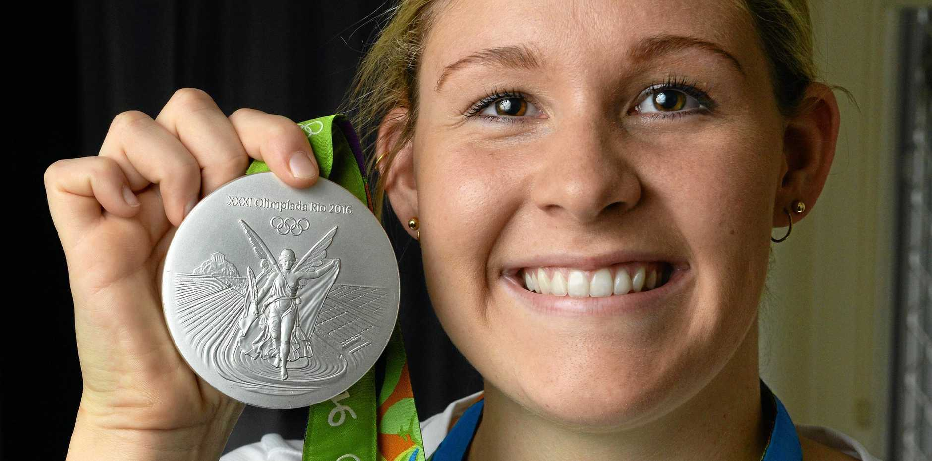 Ipswich swimmer Leah Neale is hoping to add more medals to her international collection after winning a silver at the 2016 Rio Olympics.