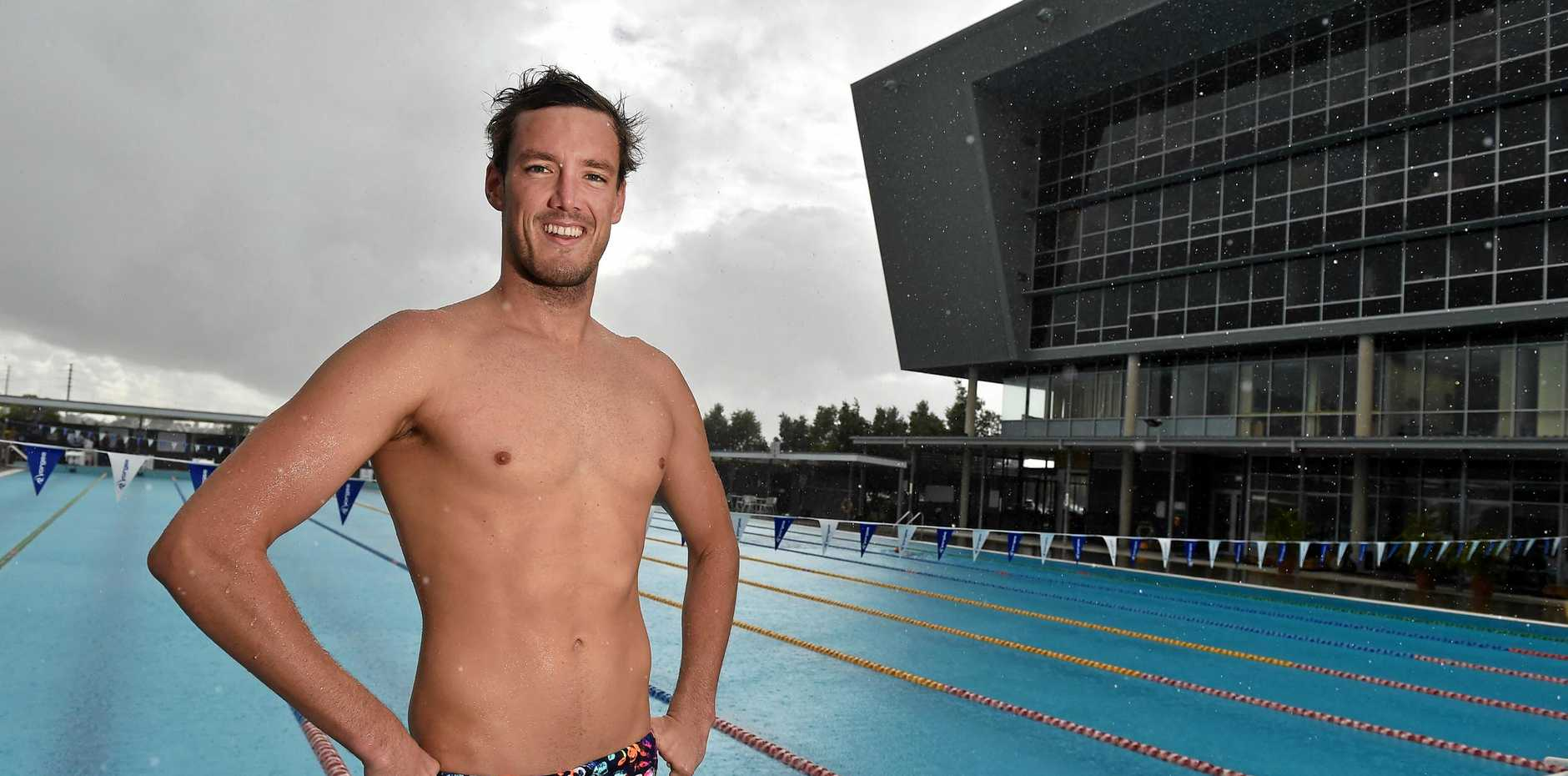 Blake Cochrane is among nine University of the Sunshine Coast swimmers who have been selected to represent Australia at the Commonwealth Games.