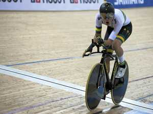 Young gun wary of competition on the velodrome