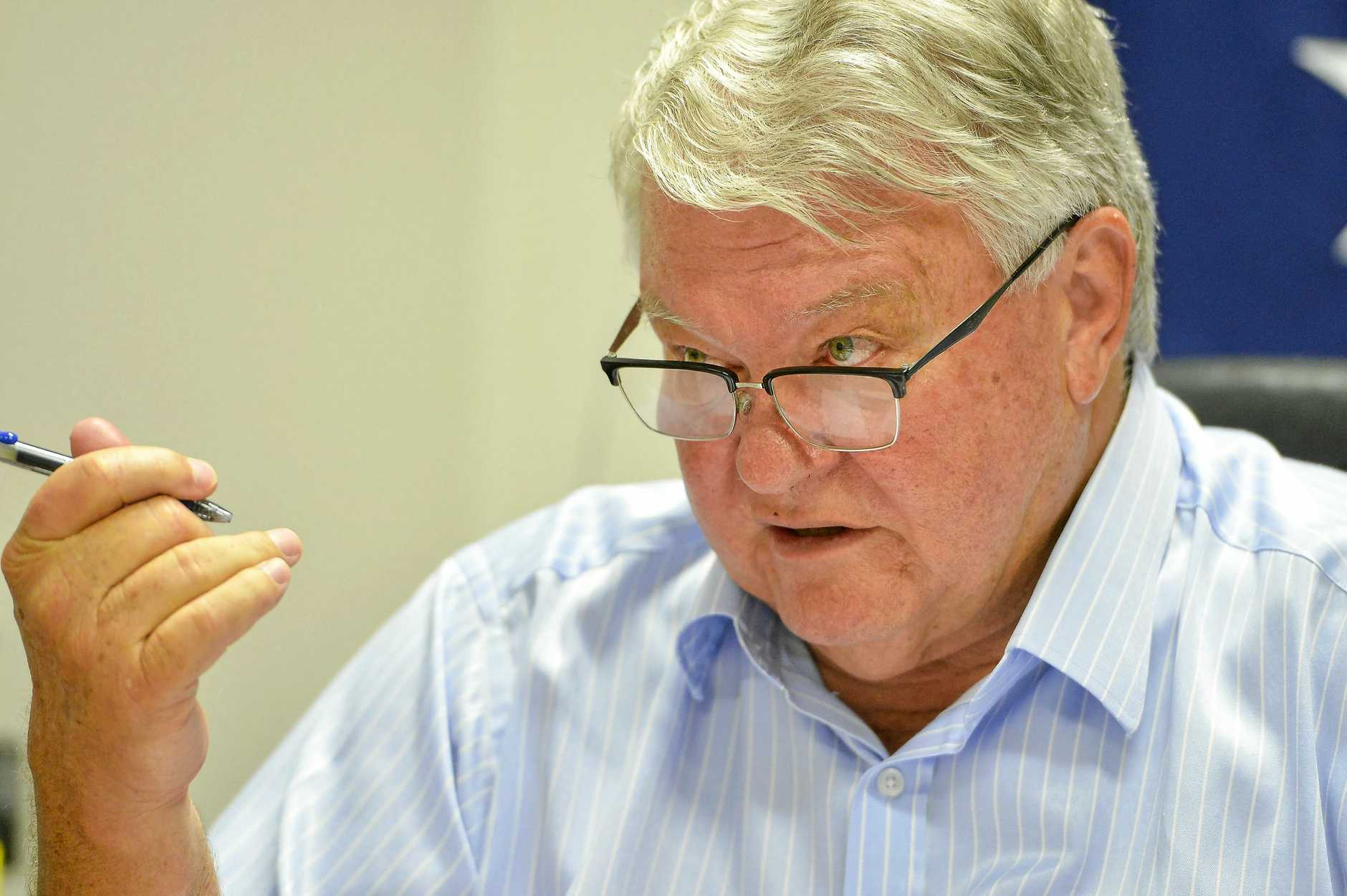 COAL-BLOODED: Ken O'Dowd has confirmed he is part of the pro-coal Monash Forum.