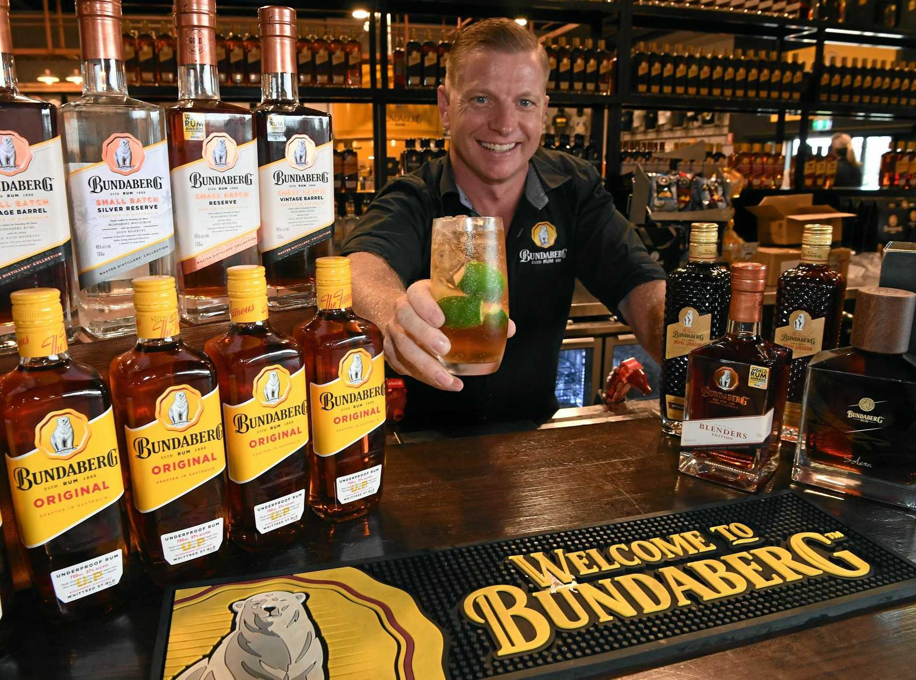 GREEN TOUCH: Bundaberg Rum operations and brand manager Duncan Littler.