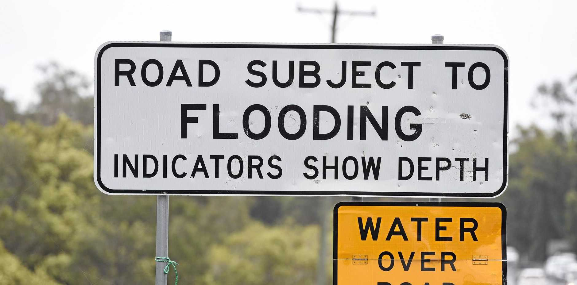 A number of rivers in Central Queensland are on flood watch. FILE PHOTO