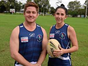 Siblings making Central Queensland league history
