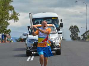 Capturing excitement of the Queen's Baton Relay in Gatton