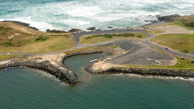The Coffs Harbour boat ramp has raised