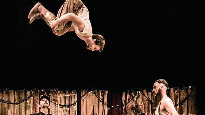 Circus performer Company 2 will deliver a world premiere performance of Le Coup at this year's Rockhampton River Festival.