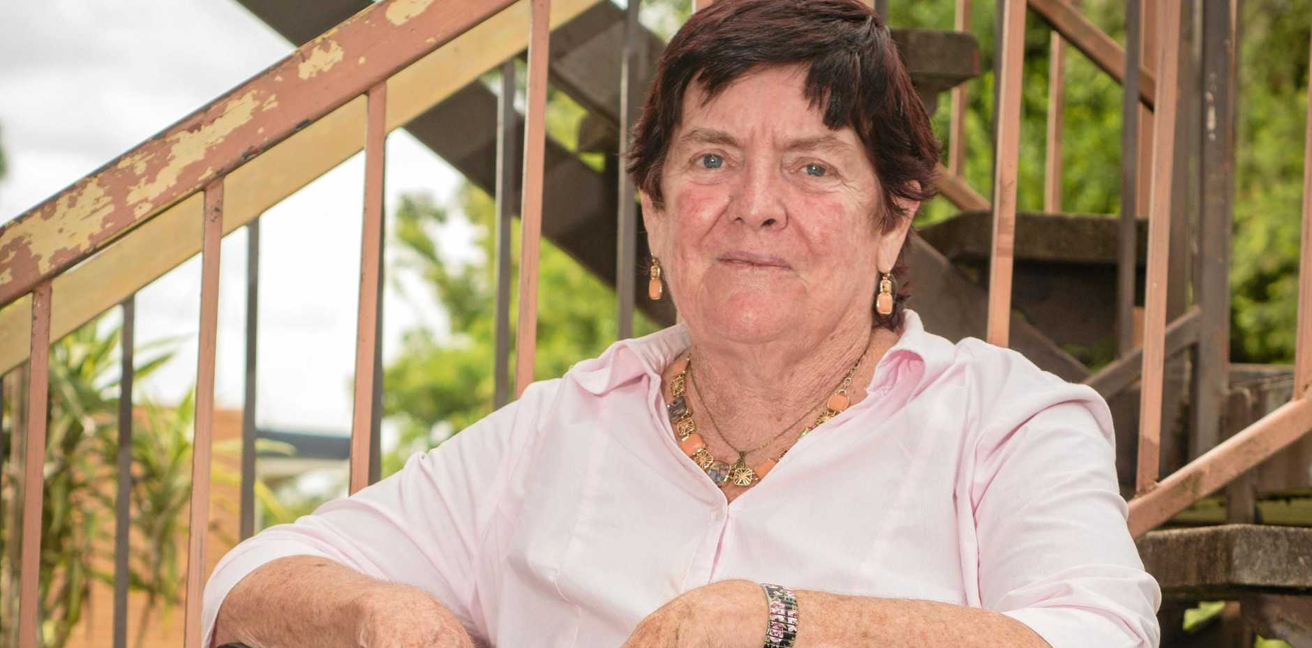 END OF THE LINE: Michelle Murray has complained about access issues at Goodna train station.