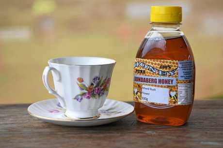 BUNDABERG HONEY: Darren Pratt is proud to be supplying local honey to Prince Charles during his visit to Bundaberg.
