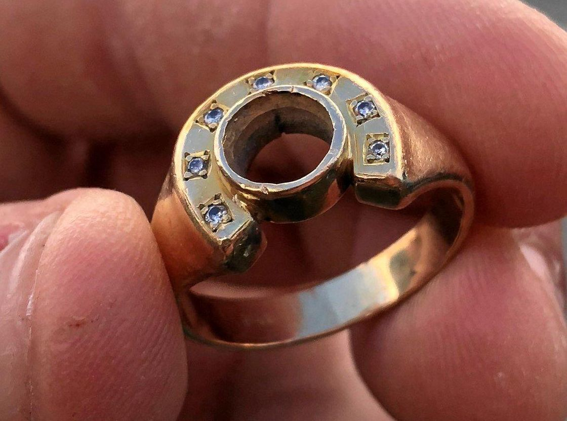 A DIAMOND ring, passed down through five generations was lost at Golden Beach for three days before being recovered by a Sunshine Coast man.