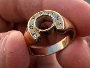 Five-generation priceless ring lost at sea recovered