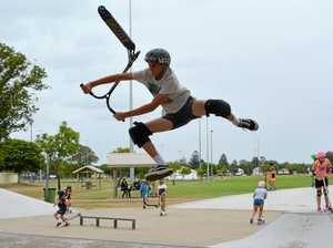 Holiday fun gets rolling in Laidley