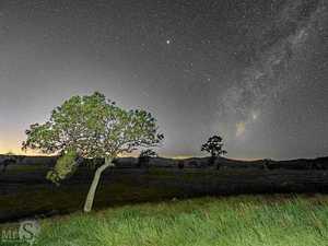 'Milky Way rising' is popular choice
