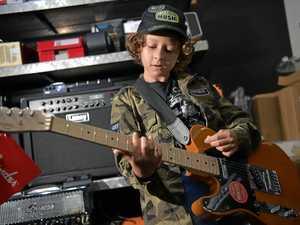Coast guitar talent, 10, rakes in $630 at Bluesfest