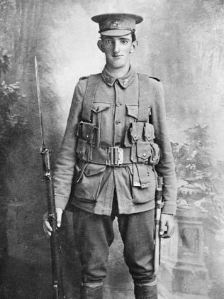 Portrait of Private Albert John Handcock, 7th Battalion, killed in action, 1915-25-04. IMAGE: Australian War Memorial