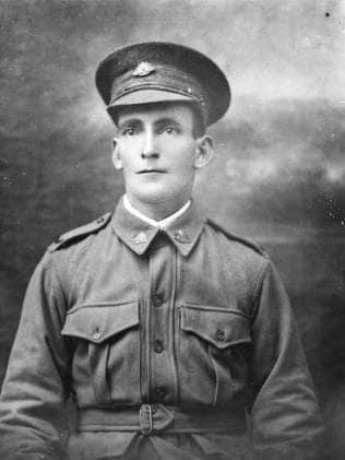 Sergeant Charles Handcock, 37th Battalion. Died of illness, 10 November 1918, aged 31. IMAGE: Australian War Memorial.