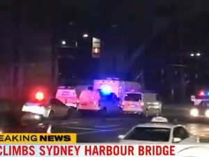 Sydney Harbour Bridge climber brought down