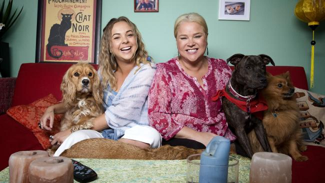 Angie and Yvie from Gogglebox. Picture: Nick Wilson