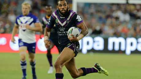 Josh Addo-Carr is a very natural sprinter.