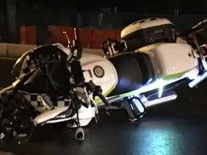 Cops injured in Royal motorcade smash