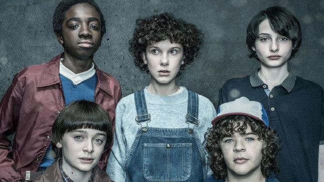Stranger Things cast.