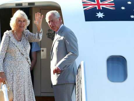 Britain's Prince Charles (R) and his wife Camilla will stand in for the Queen at the Commonwealth Games. Picture: AFP