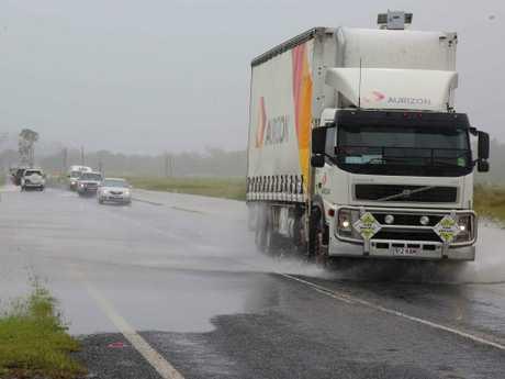 A slow crossing of Hamilton Plains after steady rain has fallen around Proserpine.