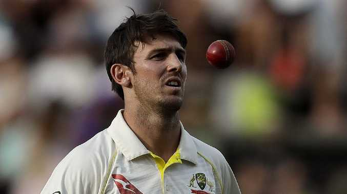 Mitch Marsh scored a century against India A.