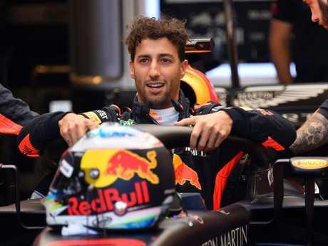 Ricciardo doesn't lack self belief.