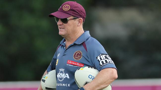 Kevin Walters at Brisbane Broncos training at Red Hill.