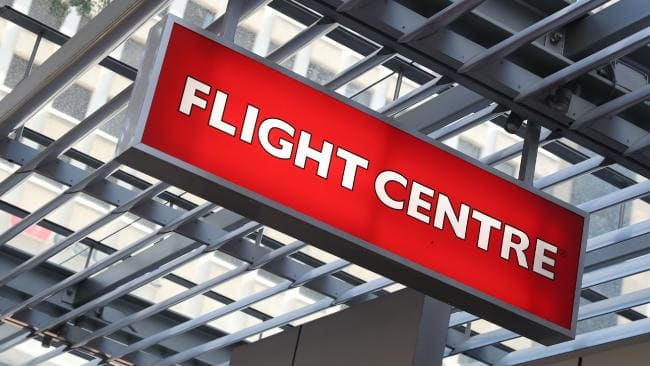 Flight Centre fined for price-fixing. Picture: Peter Wallis