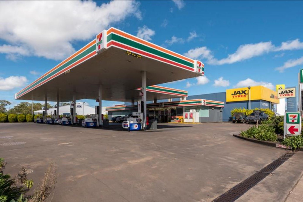 FOR SALE: The Seven-Eleven on James St, opposite Clifford Gardens Shopping Centre, will go under the hammer next month.