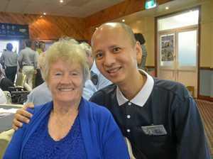 100 helpers chew through dental work in Tara
