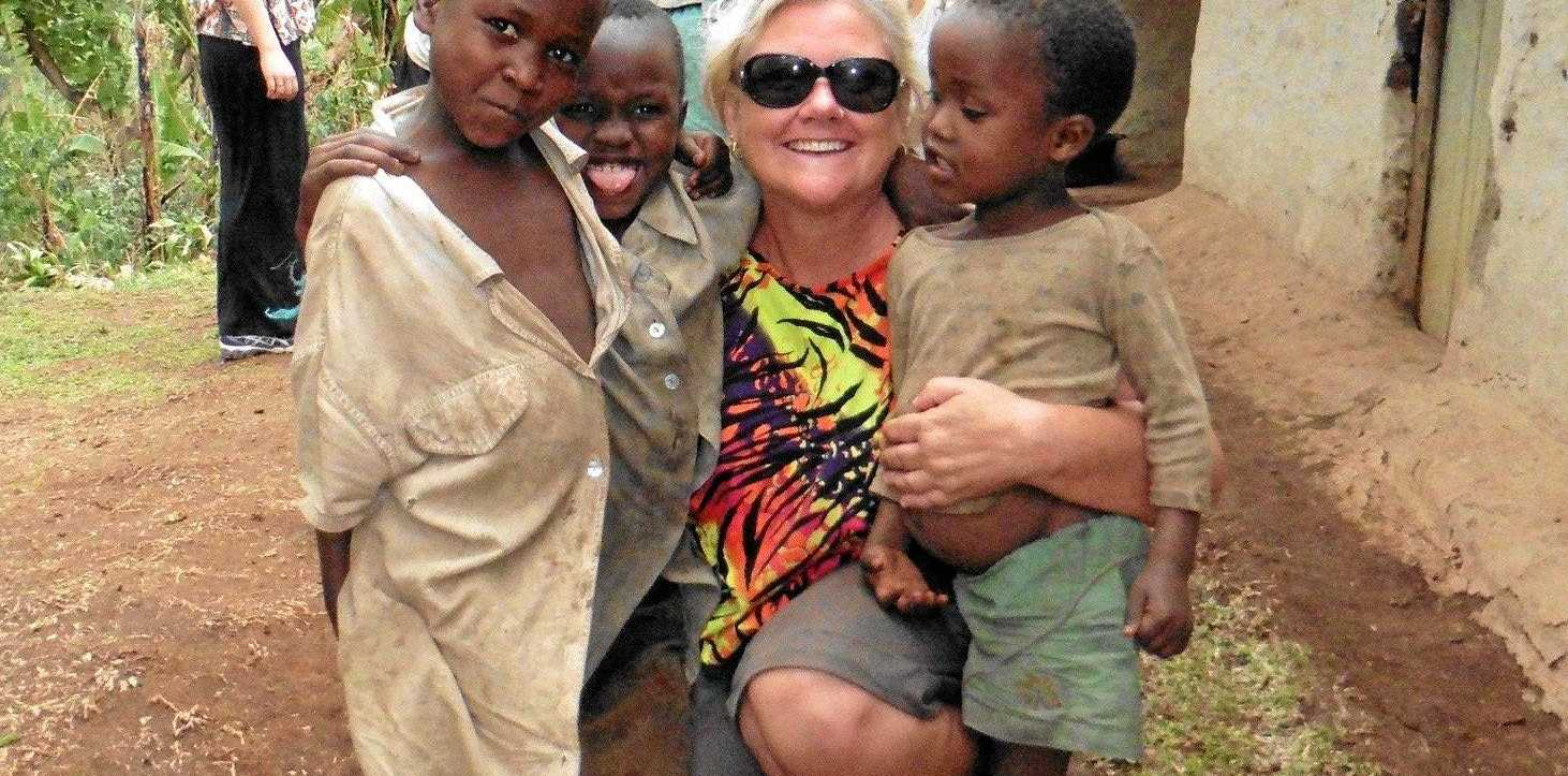 HELPING HAND: Liz Weir needs your help to provide essential care to suffering individuals in Africa.