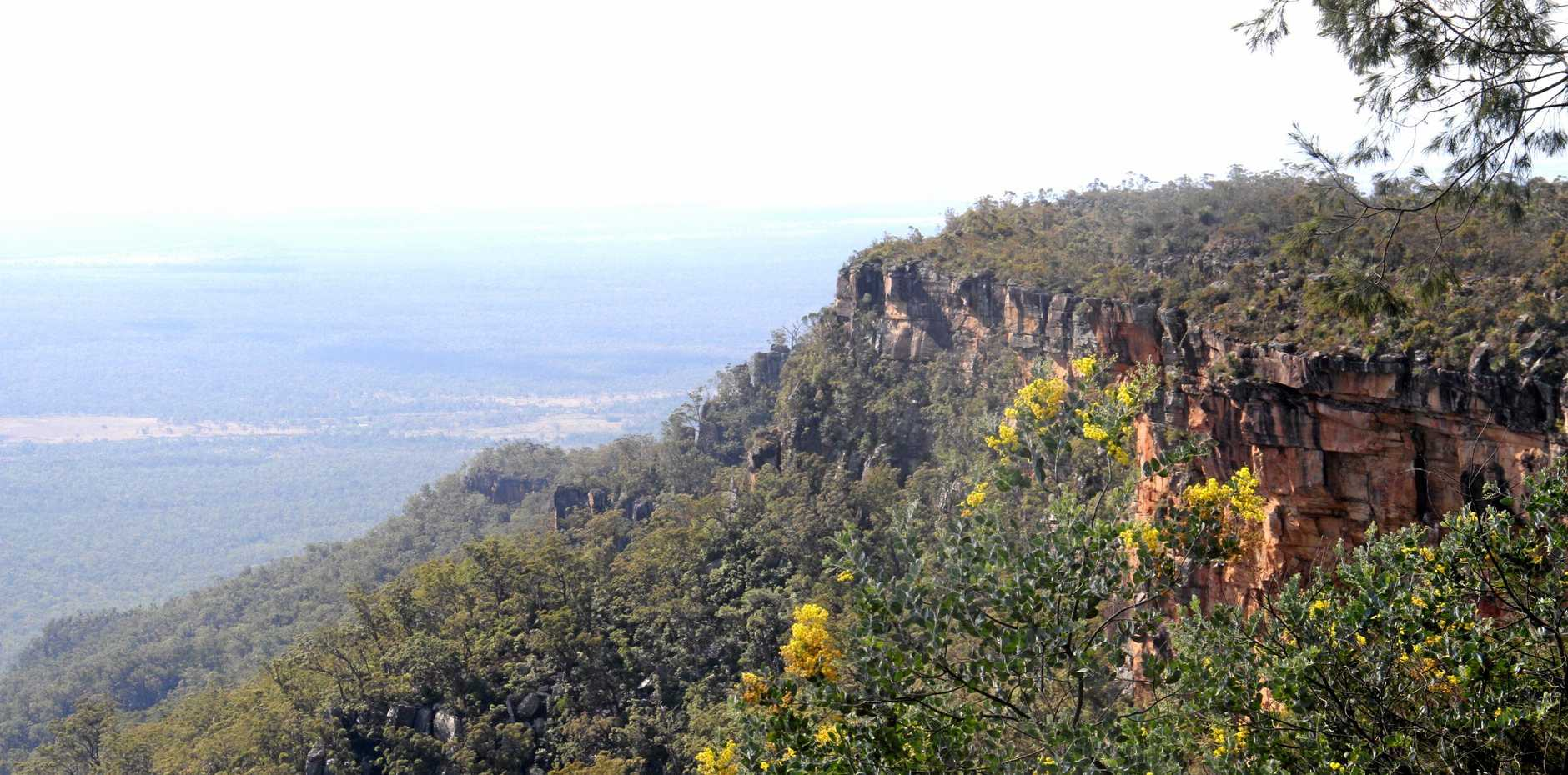 BLACKDOWN TABLELANDS: It's easy to lose your sense of reality with a view like this.