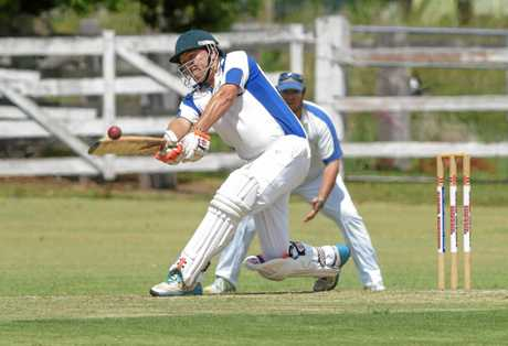 AT THE TOP: Harwood captain Nathan Ensbey was the GDSC Premier League leading run scorer for the second year in a row.