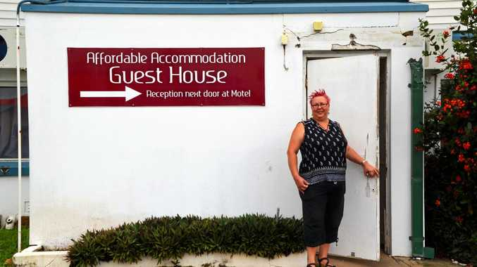 NEW CHAPTER: Proserpine Motel manager Kristy Haslam will rebuild the reputation of the business in the wake of Cyclone Debbie.