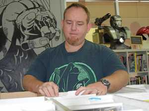 Mackay comic store to hold free comic book day