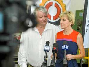 Julie Bishop tips NSW side in Gladstone NRL clash