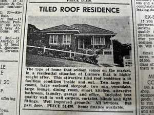 MEMORY LANE: The changing price of real estate