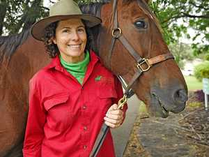 Hundreds of horses, riders saddle up for Kilkivan's big day