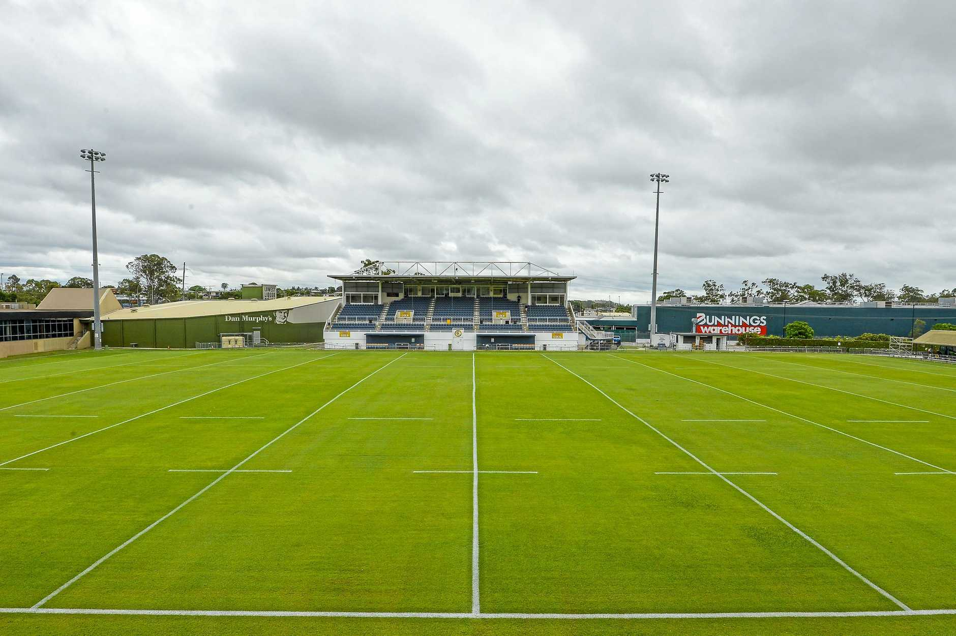 PRISTINE: Marley Brown Oval will host it's first NRL game on Sunday.