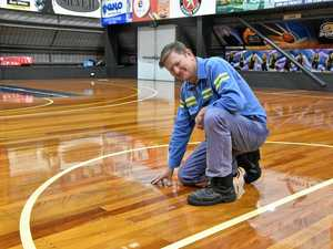 Kev Broome Stadium undergoes resurfacing