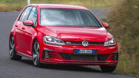 The VW Golf GTI is a veteran of the hot hatch class. Picture: Thomas Wielecki.